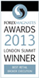 Forex Magnates London Summit Award 2013