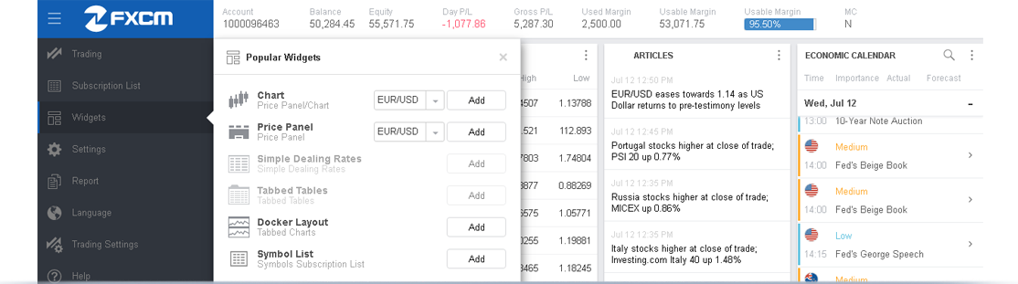 FXCM - New Trading Station News