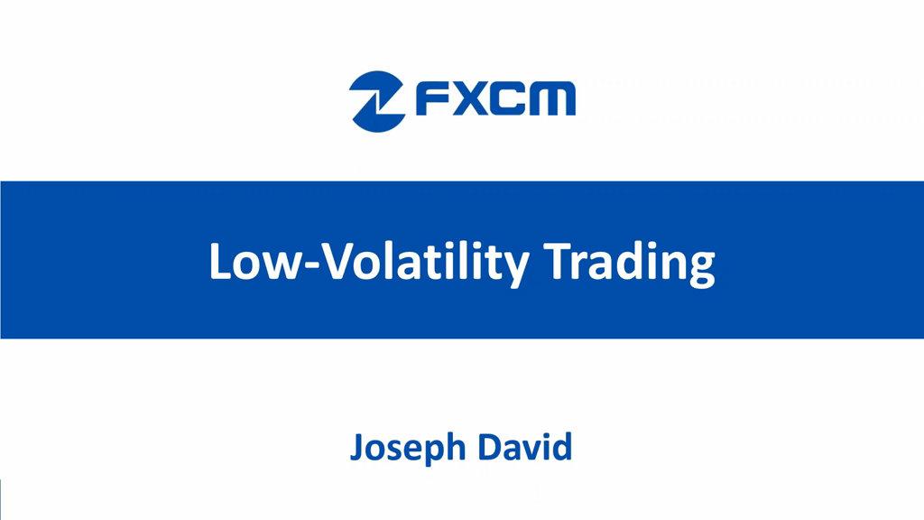 Trading Low Volatility
